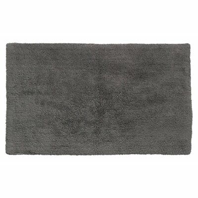Canton Reversible Bath Rug Color: Charcoal Gray
