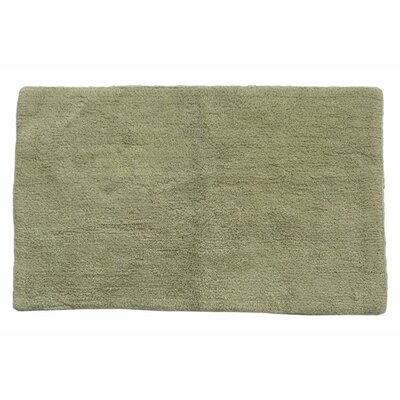 Canton Reversible Bath Rug Color: Sage Green