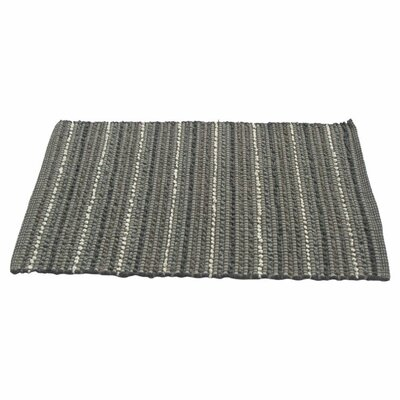 Iris Kitchen Mat Color: Gray