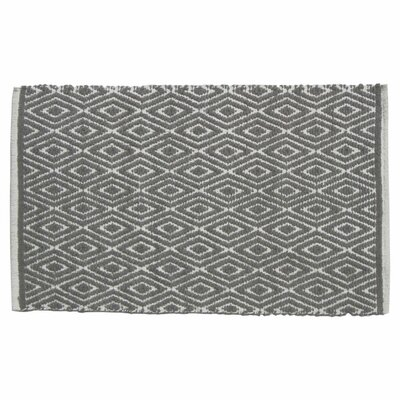Diamond Doormat Color: Gray