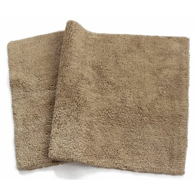 Canton Reversible Bath Rug Color: Mocha