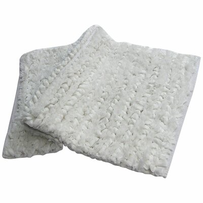 Shelby Paper Bath Rug Color: White