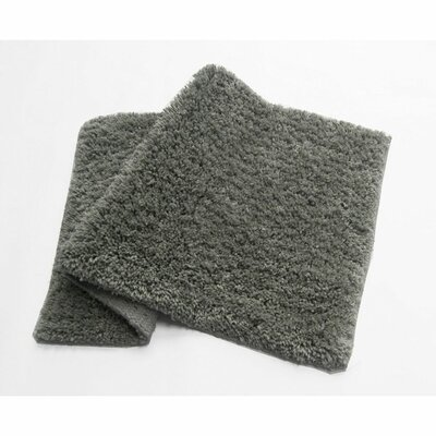 Bliss Bath Rug Color: Gray