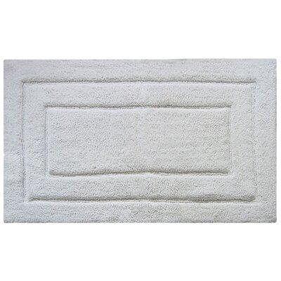 Classic Bath Rug Color: White