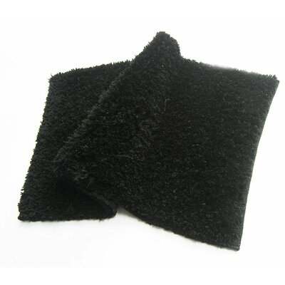 Bliss Bath Rug Color: Black