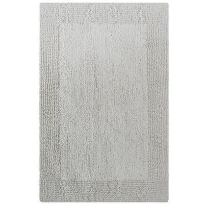Splendor Reversible Bath Rug Size: 1 H x 24 W x 60 L, Color: White