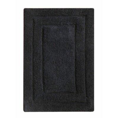 Classic Bath Rug Color: Black
