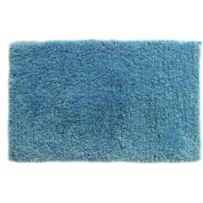 Bliss Bath Rug Color: Blue