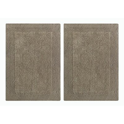 Splendor Reversible Step Out Bath Rug Color: Beige