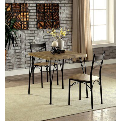 Clarkstown 3 Piece Dining Set