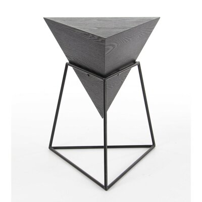 Buentello End Table Finish: Gray