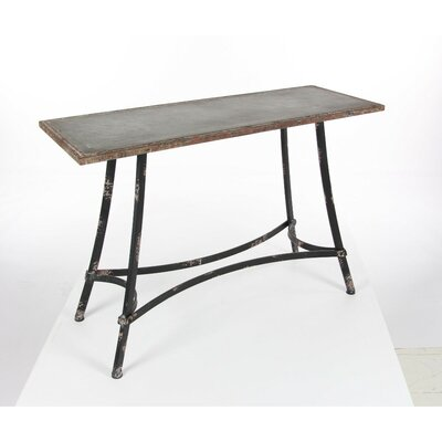 Emilio Metal Console Table