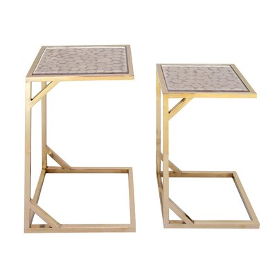 Gillespie 2 Piece Console Table Set
