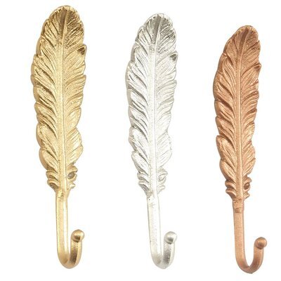 Feather Shaped Wall Hook