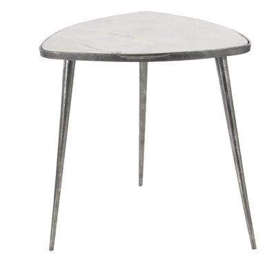 Avon Metal Marble End Table
