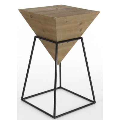 Bullins Square Shaped End Table Finish: Brown