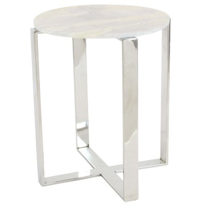 Mcgrath Marble End Table