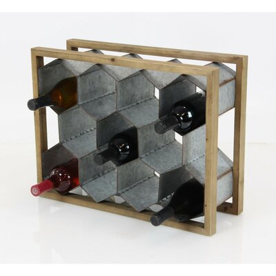 Argo 11 Bottle Tabletop Wine Bottle Rack