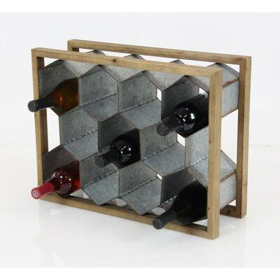Johnathan 11 Bottle Tabletop Wine Bottle Rack