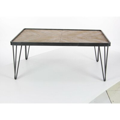 Keiu Rectangular Wood Coffee Table