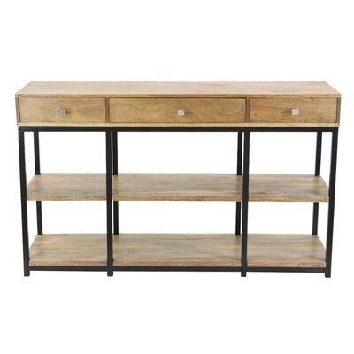 Olean Antiqued Console Table