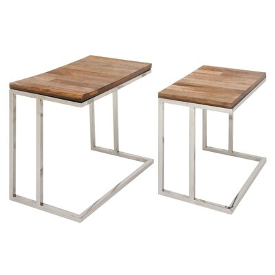 Karlie 2 Piece End Table Set