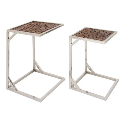 Lechez 2 Piece Nesting Tables