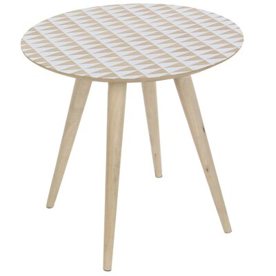 Cohasset Great Looking Wooden End Table