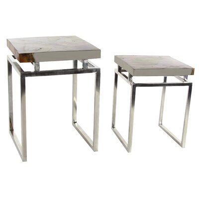 Dillard 2 Piece End Table Set