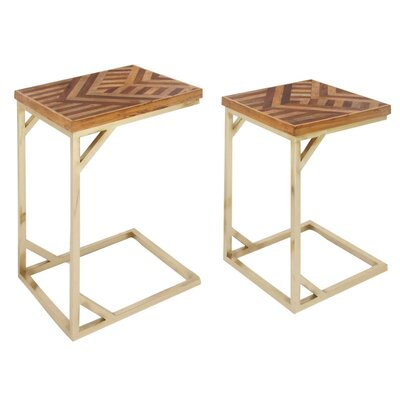 Ali 2 Wood Nesting Tables