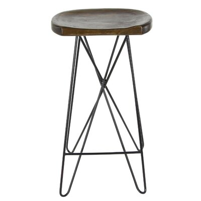 Manning 30 Bar Stool Finish: Brown