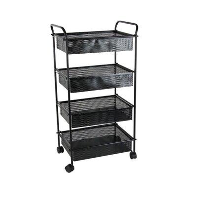 Latitude Run Ninette 4 Tier Bar Cart