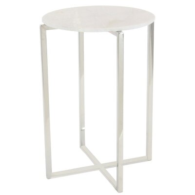 Columbia Marble End Table