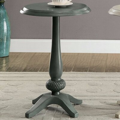 Armada End Table Color: Teal