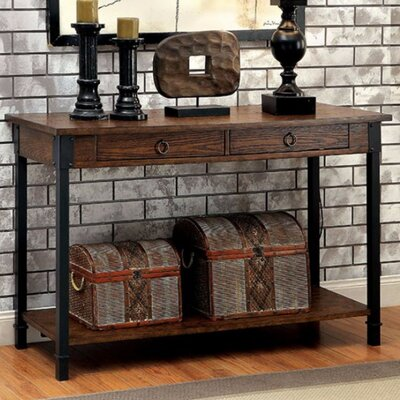 Braden Industrial Console Table