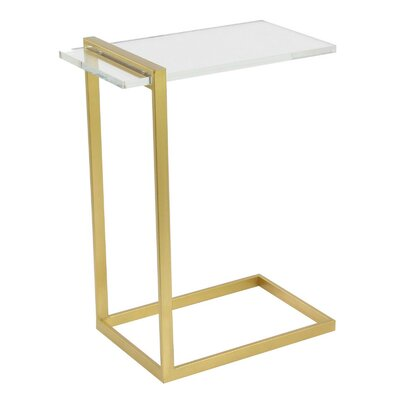 Gilberton End Table Finish: Golden