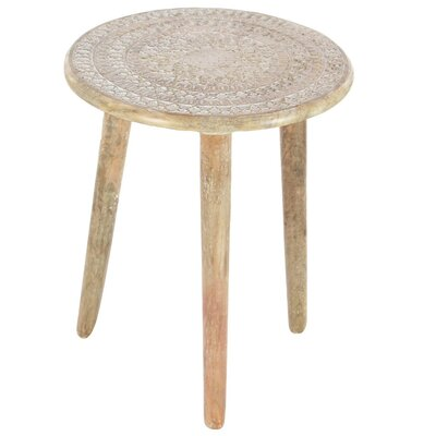 Dracut Tripod End Table Color: Natural Brown