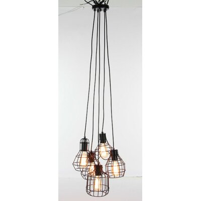 Connie 5-Light Cluster Pendant