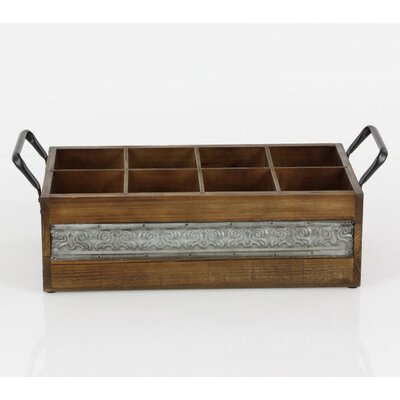 Owensboro Wood 6 Bottle Tabletop Wine Bottle Rack