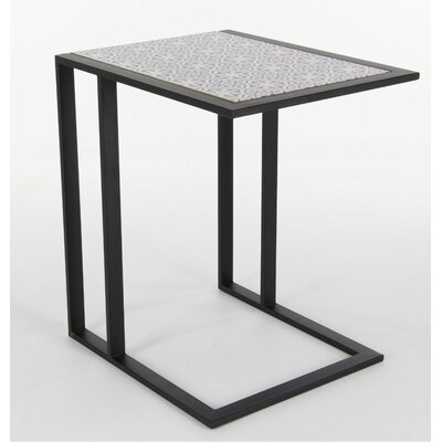 Colrain Metal Wood End Table