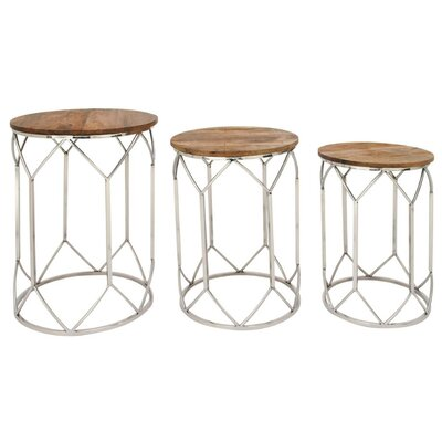 Niles 3 Piece Nesting Tables
