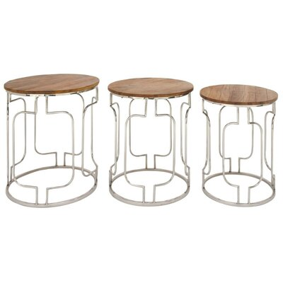Moravia 3 Piece End Table Set