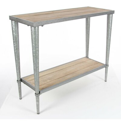 Trenton Metal Wood Console Table