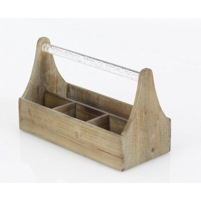 Jessie Wood Tabletop Wine Bottle Rack