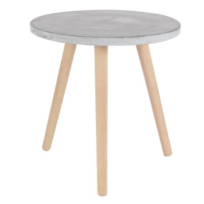 Cioffi End Table Top Finish: Gray