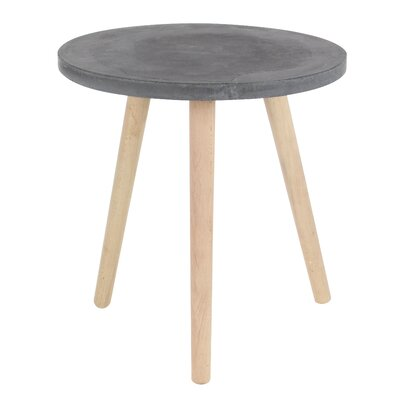 Cioffi End Table Top Color: Black