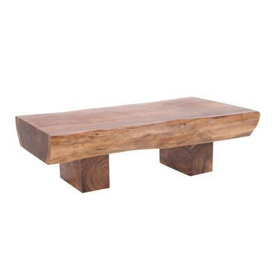 Stanley Rain Tree Wood Coffee Table