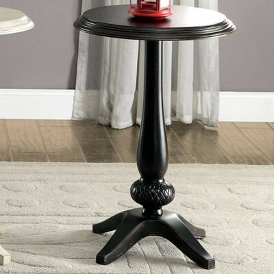 Armada End Table Finish: Black