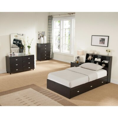 Distefano Twin Storage Platform Bed Size: Full