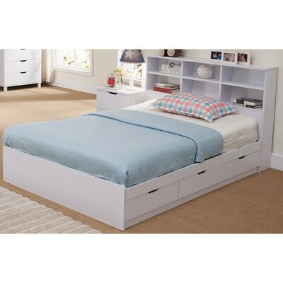Divito Beautiful Dazzling Full Storage Platform Bed